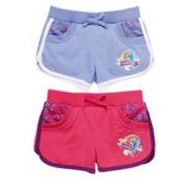 Girls Pack of 2 My Little Pony Shorts