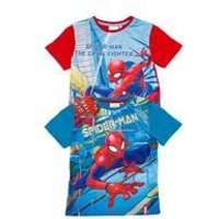 Boys Pack Of 2 Spider-Man T-Shirts