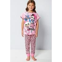 Girls LOL Surprise Leopard Pyjamas