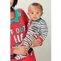 Babys Unisex Christmas Sleepsuit