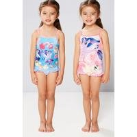 Young Girls Pack Of 2 My Little Pony Swim Swimsuits