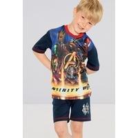 Boys Avengers Infinity Shortie Pyjamas