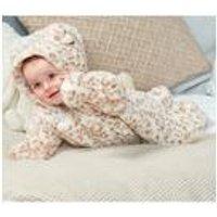 Baby Girls Leopard Pram Suit