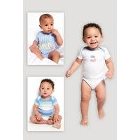 Baby Boys Pack of 3 Cool Tiger Bodysuits