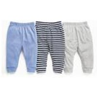 Baby Boys Pack of 3 Lightweight Joggers