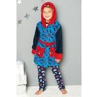 Boys Spider-Man Fleece Robe