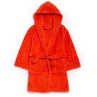 Boys Supersoft Orange Robe