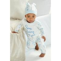 Baby Boys 2-Piece Twosie and Hat Set