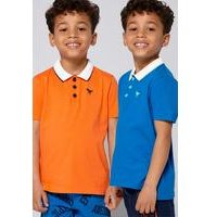 Younger Boys Pack of 2 Polo Shirts