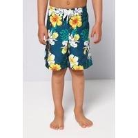 Older Boys Hawaiian Board Shorts