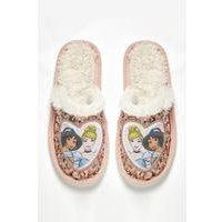 Girls Disney Princess Mule Slippers