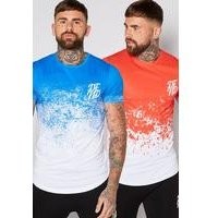 DFND 2 Pack Fade T Shirts