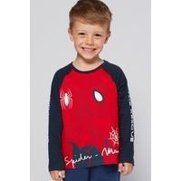 Boys Spiderman Long Sleeved Top