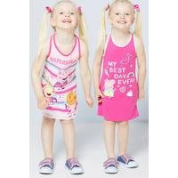 Younger Girls Peppa Pig Pack of 2 Dresses
