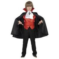 Smiffys Kids Dracula Boy Halloween Costume
