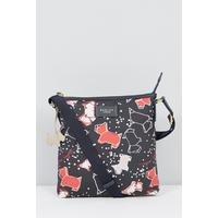Radley Speckle Dog Medium Zip Top Cross Body Bag