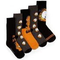 Garfield Big Deal Pack Of 5 Socks