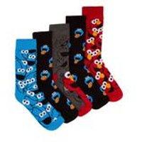 Cookie Monster Pack Of 5 Socks