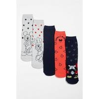Pack of 5 Minnie Mouse Socks