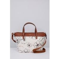 Radley Linear Flower Medium Zip Top Multiway Bag
