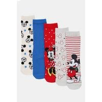 Pack of 5 Mickey Mouse Character Socks
