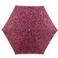 Radley Mini Telescope Claret Umbrella