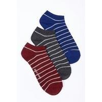 Ben Sherman 3 Pack Stripe Socks