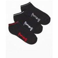 Money 3 Pack Trainer Black Socks