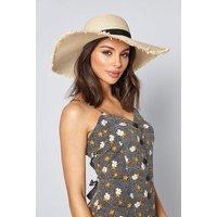 Havana Wide Brim Straw Hat