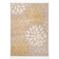 floral burst rug
