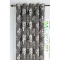 Woodland Trees Eyelet Curtain