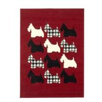 scottie dog rug