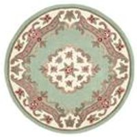 Shensi Traditional Pastel Circle Rug