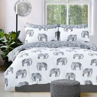 Pieridae Fashion Elephant Duvet Set