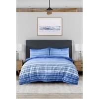 Pieridae Classic Textured Stripe Duvet Set
