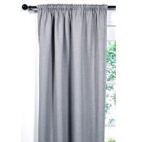 Hopsack Woven Thermal Blackout Door Curtain