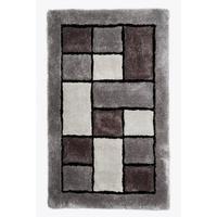 3D Blocks Shaggy Rug