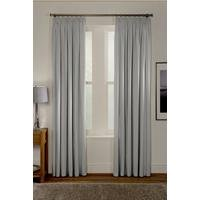 Lunar Thermal Blockout Pencil Pleat Curtains