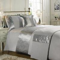Metallic Chevron 5-Piece Duvet Set