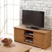 Panama Solid Pine TV/Storage Unit