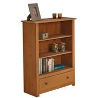 Panama Solid Pine Storage Bookcase
