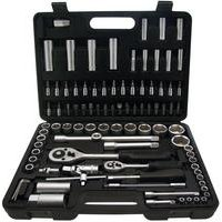 94-Piece 1/2 And 1/4 Drive Socket Set