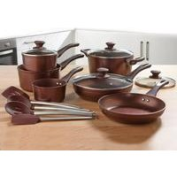 10-Piece Bronze Cookware Set