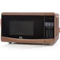 20 Litre Wood-Effect 700W Digital Microwave