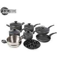 Tower 9 Piece Stone Coated Pan Set