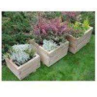 Kendal Square Planter Set Of 3