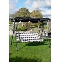 Edinburgh Padded Garden Swing