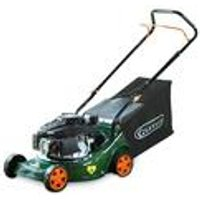 Q Garden 40cm Petrol Push Lawnmower