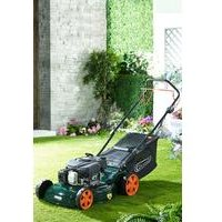 Q Garden 46cm Petrol Powerdrive Lawnmower
