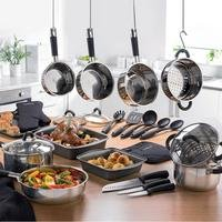 Tower 22-Piece Kitchen Set With Pouring Feature